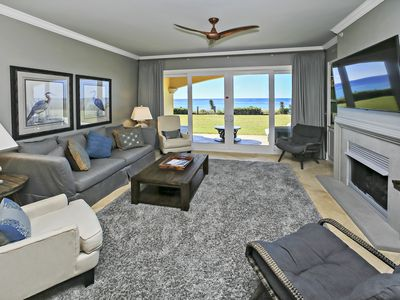 Photo for Adagio C-103 Beach-front, 4 bedroom, ground floor unit!  Newly remodeled!