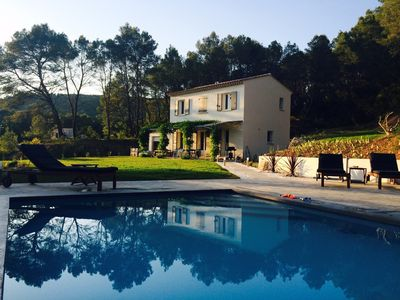 Photo for Secluded, private house with heated pool in the heart of Provence