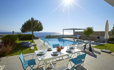 Photo for Beautiful Relaxing Sea Side Villa with pool and great views