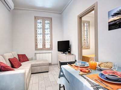 Photo for Giggino Historical Center apartment in Anacapri with air conditioning, private parking, private ter…