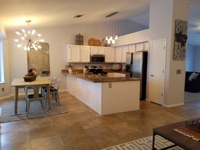 Resort Style home with heated pool and spa - sleeps 8 - Great for families!