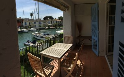 Photo for PORT GRIMAUD APARTMENT WITH EXCEPTIONAL VIEW ON THE GOLF OF ST TROPEZ