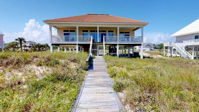 "Photo for Ready to rent now! FREE BEACH GEAR! Beachfront, Pets, Hot Tub, Fireplace, Private Boardwalk, 4BR/4BA ""See Escape"""