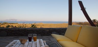 Photo for Villa Seaside, Exceptional Location, Tinos, Cyclades, - 50% JULY AUGUST