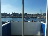 Really good apartment, best position on the harbour, Paimpol is a wonderful town.