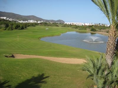 Photo for APARTMENT CLIMATISE. RESIDENCE OF THE GOLF. SEA AND MOUNTAIN VIEW. DIRECT PLAG ACCESS