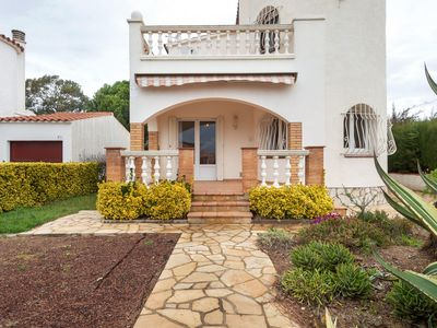 Photo for Peaceful Holiday home in Sant Pere Pescador With Swimming Pool