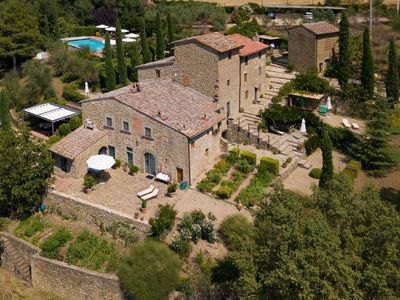 Photo for Holiday apartment Greve in Chianti for 4 - 5 persons with 2 bedrooms - Historical building