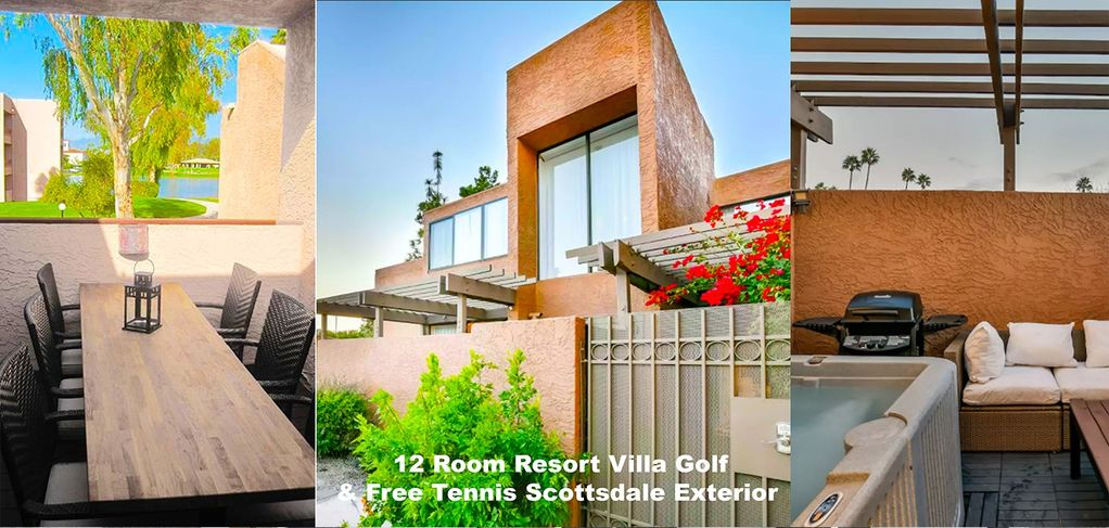 12 Room Resort Villa Golf And Free Tennis Scottsdale W Spa And Patio 10 Min To Old Town
