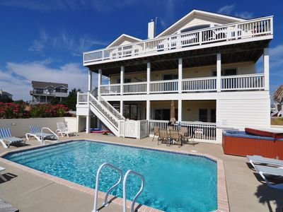 Photo for The Endless Summer: 7 BR / 6 BA house in Corolla, Sleeps 16