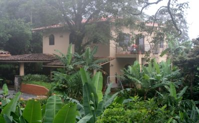 The Terrace Bedroom is located at The Hacienda Bed and Breakfast