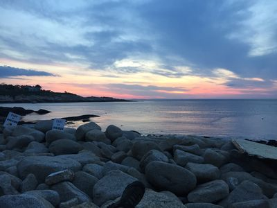 come watch the sunset overlooking Ipswich Bay