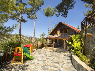 Photo for 3 Bedroom Chalet in Spilia Troodos