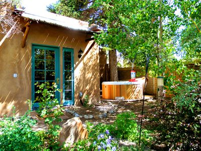 Photo for Casa Carlos- Walk to Plaza  Hot Tub Authentic Adobe Taos Historic District