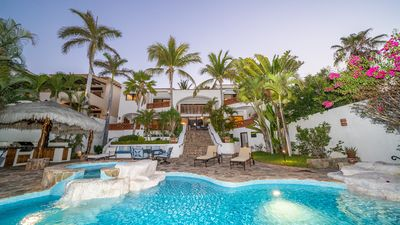 Photo for AMAZING DEAL!! PRIVATE BEACH/OCEANFRONT 4BD VILLA ON BEST BEACH