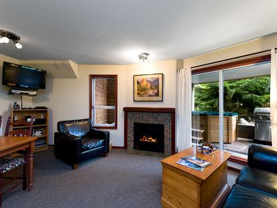 Photo for 69 Glaciers Reach this 2br home has a hot tub & pool in Whistler Village