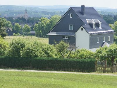 Photo for Grosz holiday home with large garden, heated swimming pool, nursery at the forest