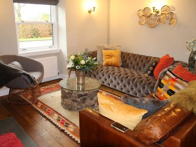 Photo for Boutique Hotel Luxury House with 3 double ensuite rooms in a lively village