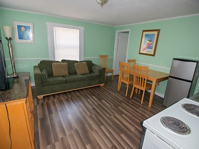 Photo for Oceanside Efficiency with Kitchenette and Beach Access!