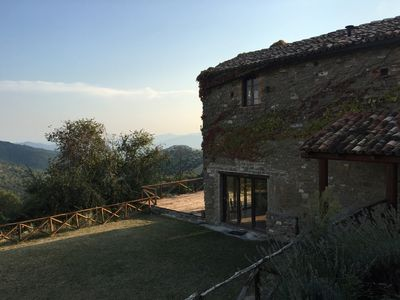 "Photo for ""Vineyard Cottage"" with Mountain Views in the Heart of the Umbrian Countryside"