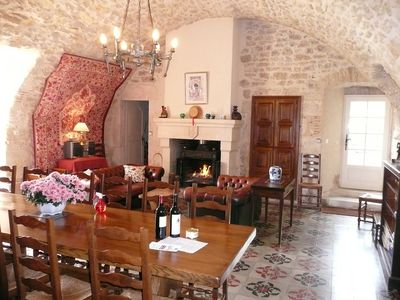 Dining Room in Chateau du Trichot