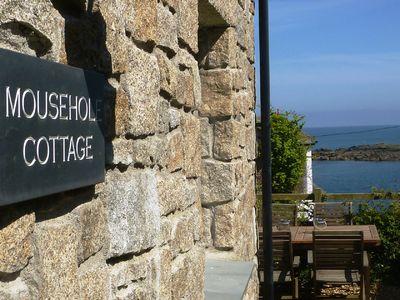 Mousehole Cottage with lovely sea views