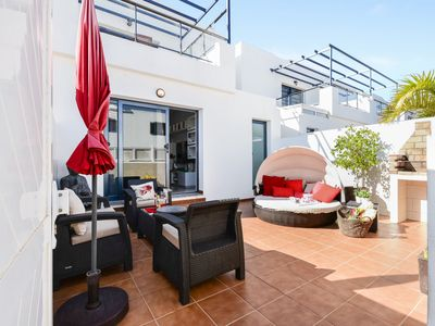 Photo for Home Residencial Noa Close to Beach with Terrace, Wi-Fi & Air Conditioning