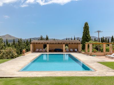 Photo for Stylish event finca with 8 suites, 7 gardens and private pool