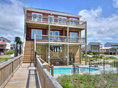 Photo for Oceanfront Home w/Private Pool! Beautiful,5 Bdrm/3.5 Bath w/ Lots of Amenities-Sleeps 14