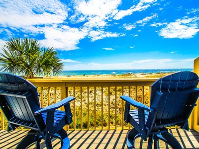 Photo for Gulf Front Beach Cottage