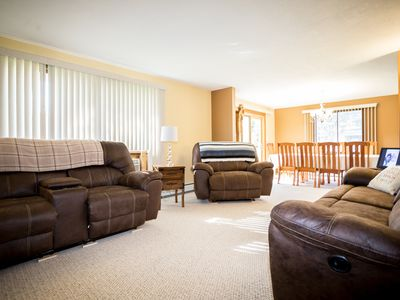 Photo for Spacious family home, clean, minutes from Pictured Rocks National Park.