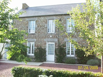 Photo for Beautifully Restored Stone Farmhouse in Normandy Countryside