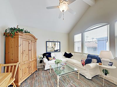 Living Room - Welcome to Balboa Island! This apartment is professionally managed by TurnKey Vacation Rentals.