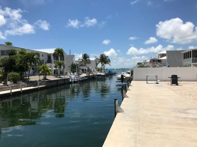 Photo for BIg Pine Key New House 75 ft dock  250 feet from open waters of Pine Channel