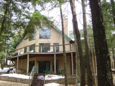 Large Adirondack cabin on the moose river! - Old Forge
