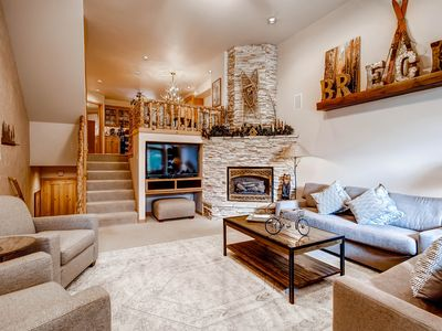 Photo for Front Row Ski in Ski Out Elegant Townhome-Right by Ski School and Walk To Town