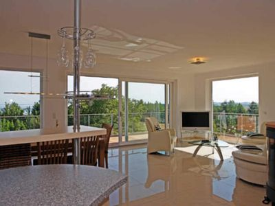 Photo for Beletage 3 - Villa Ostseeblick 5 * with sea and Boddenblick