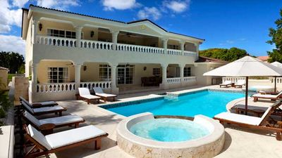private in ground pool with your villa