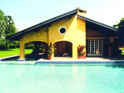 "Photo for Villa with Swimpool at ""La Pinetina"" Golf Club, close to Como Lake Milan Swiss"