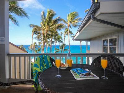 Photo for Poipu Palms 302: Oceanfront Pool, Short Walk To Beach