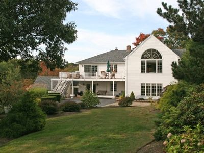 Photo for Wingaersheek, Private & Public Beach, Luxury Home, Ext'd Family View Annisquam
