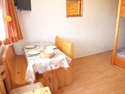 Photo for Apartment 100 m from the center of Villarembert with Lift, Internet, Pool (100335)