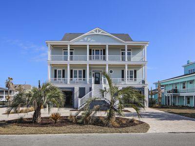 Photo for SPECTACULAR NEW CONSTRUCTION HOME ON THE INLET, PRIVATE DOCK, POOL, HOT TUB!