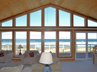 Photo for OCEAN SIX~Glorious ocean front views with large picture windows!