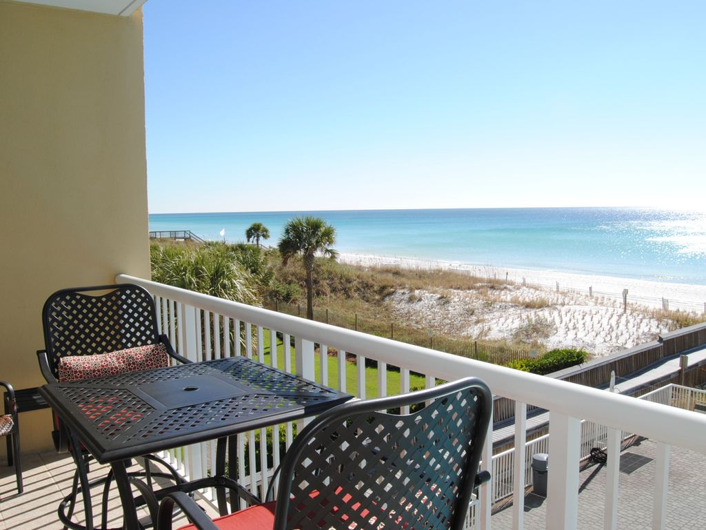 Ft Walton Beach Condo Al Balcony Waters Edge Resort 313 Fort Okaloosa Island