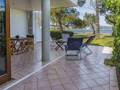 Photo for Villa on the seafront for 8 people, relax and sea views.