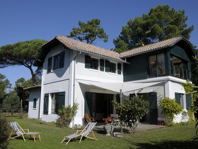 Photo for Family Villa 8 people - 2nd Line - Cap Ferret peninsula