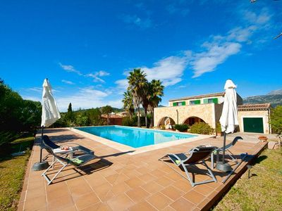 Photo for Cosy Finca with large pool and garden in the northwest of Mallorca