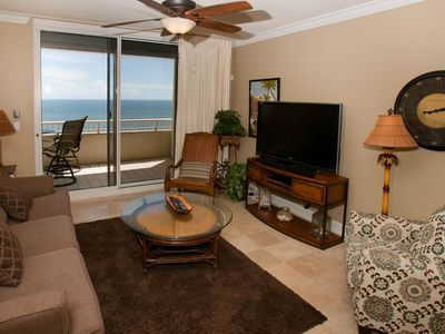 Photo for 3 BR Gulf-Front Condo, Sleeps 8, MBA w/jetted tub, WiFi, W/D, Free Activities - Beach Club A-1904