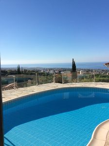 Photo for Stunning, 2 bedroom, one storey villa with panoramic views, private pool & WIFI